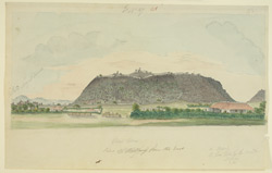 E. view of Bellary Fort
